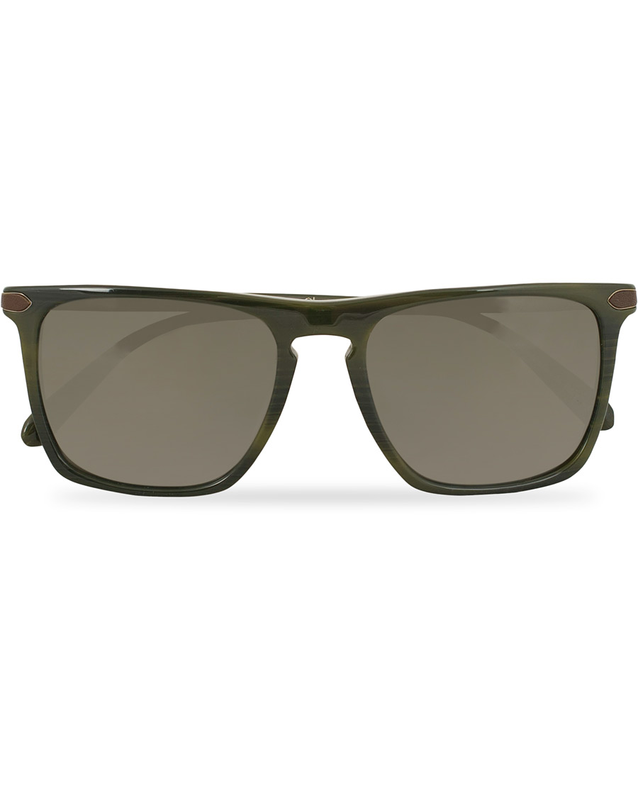 87469384cd63d Oliver Peoples Rue de Sèvres X Berluti Sunglasses Green Brown Polarized