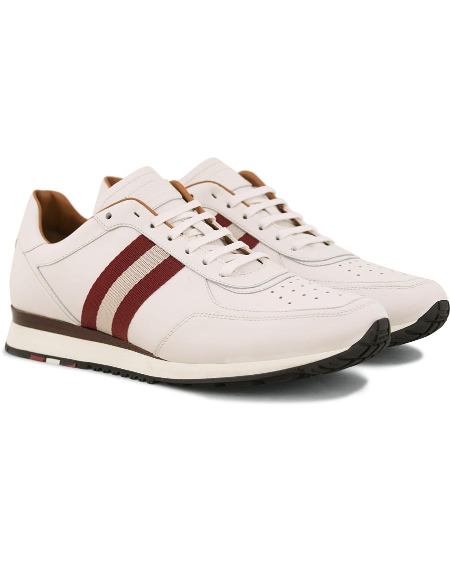 Bally Aston Running Sneaker White hos CareOfCarl.com 23928f989989f