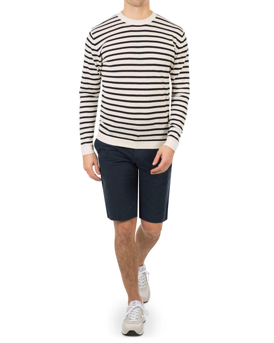 c9b4bc05e BOSS Casual Chino Slim Fit Shorts Navy hos CareOfCarl.com