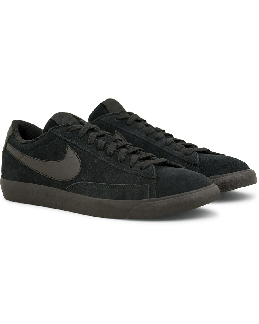info for 1c760 cb6a4 Nike Blazer Low Leather Sneaker Black