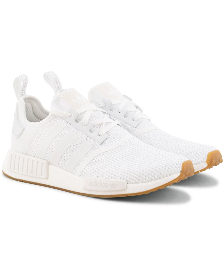 adidas Originals NMD_R1 Running Sneaker White hos