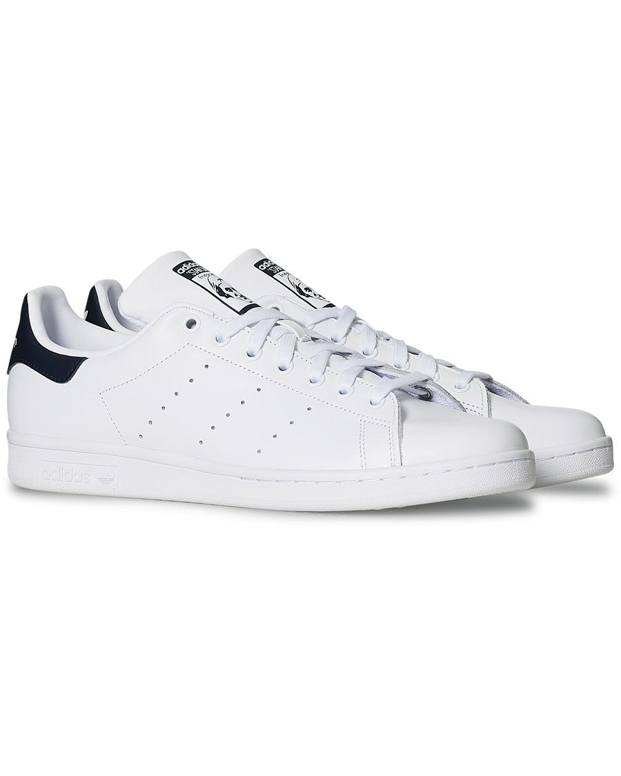 brand new ef9eb 88495 adidas Originals Stan Smith Leather Sneaker White/Navy EU39 1/3