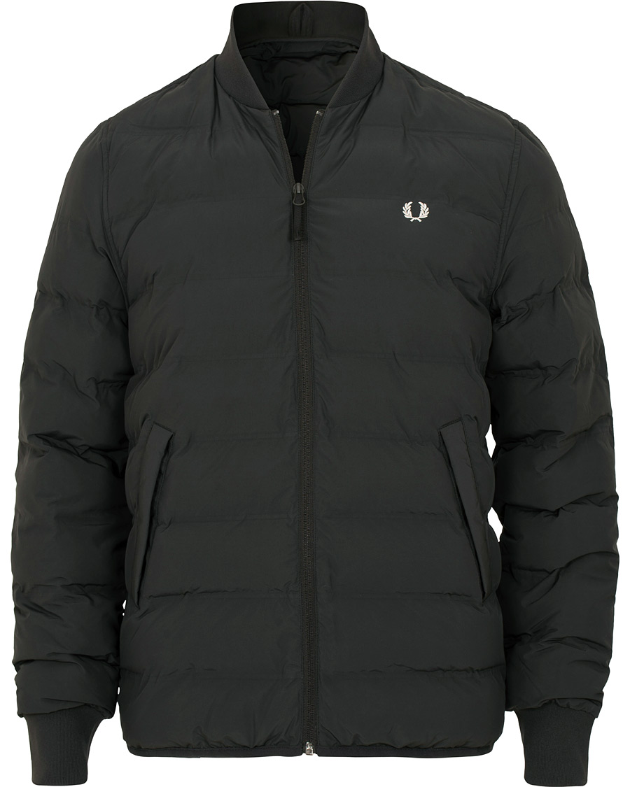 Fred Perry Insulated Bomber Jacket Black hos