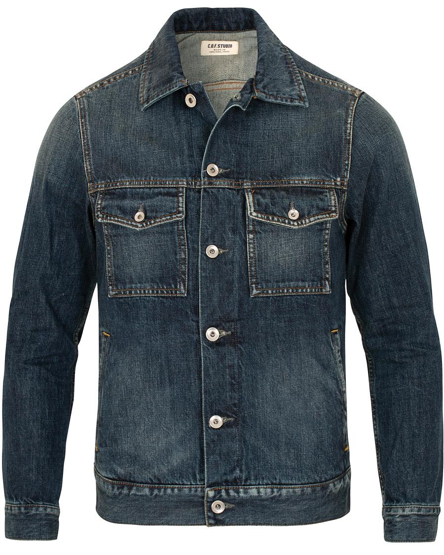 531d73b5ee8a C.O.F. Studio Standard Denim Jacket 1 Year Blue hos CareOfCarl.co