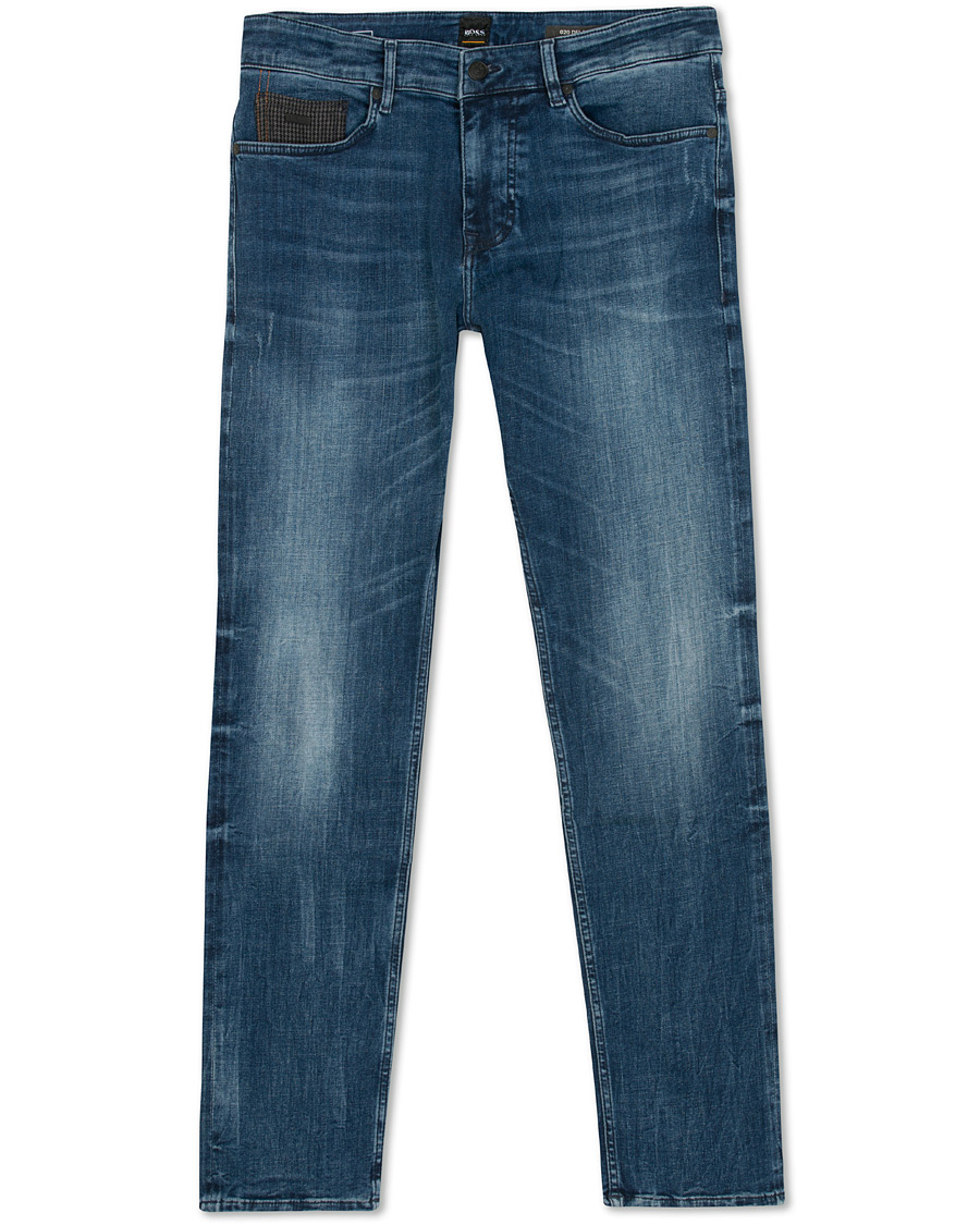 5f6c430c4371 BOSS Casual Delaware Slim Fit Jeans Medium Blue hos CareOfCarl.co