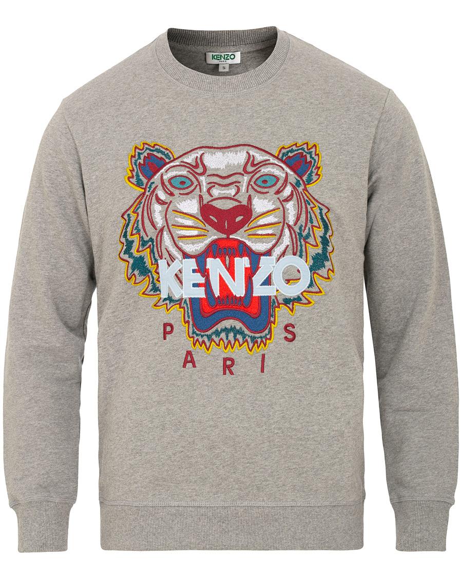KENZO Tiger Classic Sweatshirt Grey hos