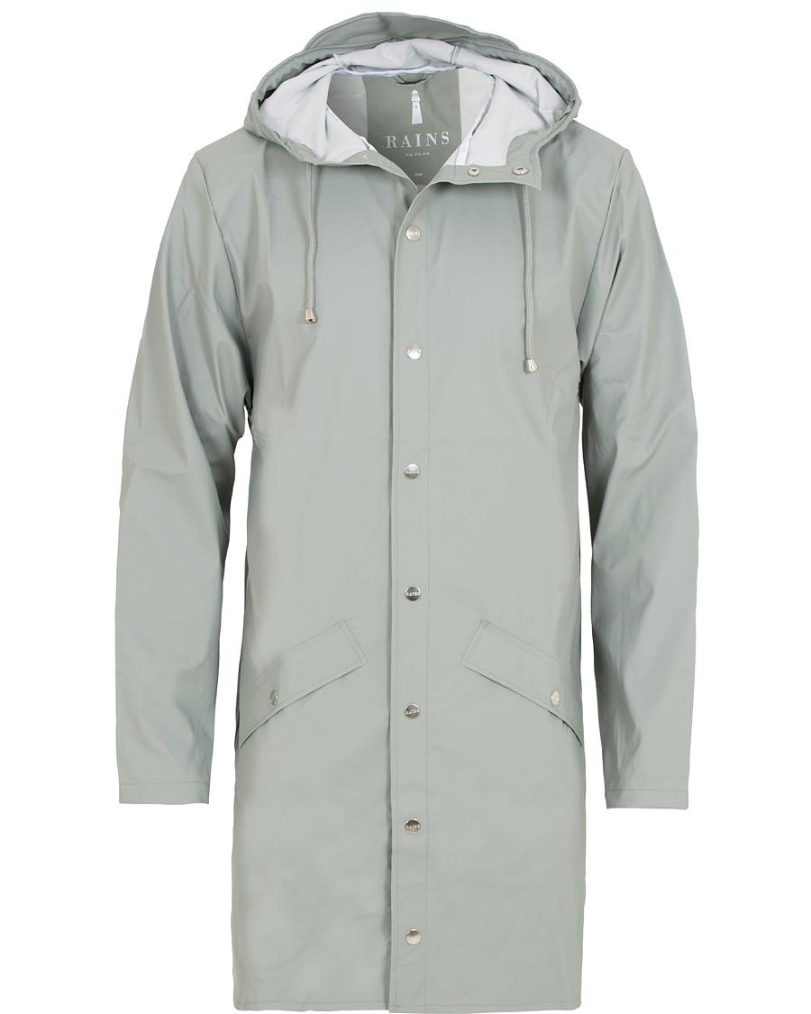 33ef5bbe1 Rains Long Jacket Stone XS/S