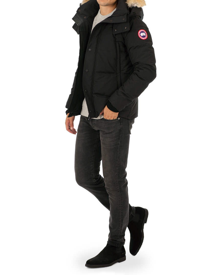 Canada Goose Windham Parka Black hos CareOfCarl.com 3ad551c96