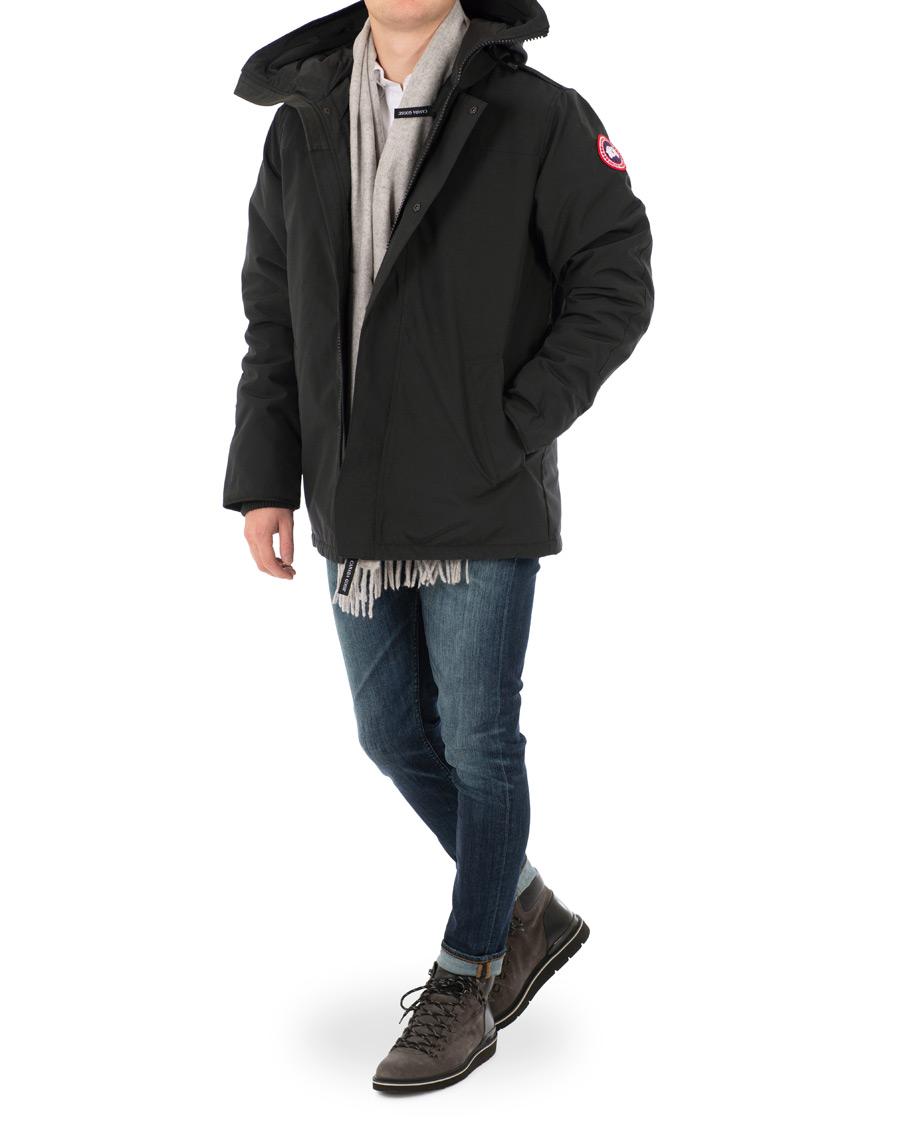 Black GARIBALDI PARKA JACKET   Canada Goose   Vinterjackor