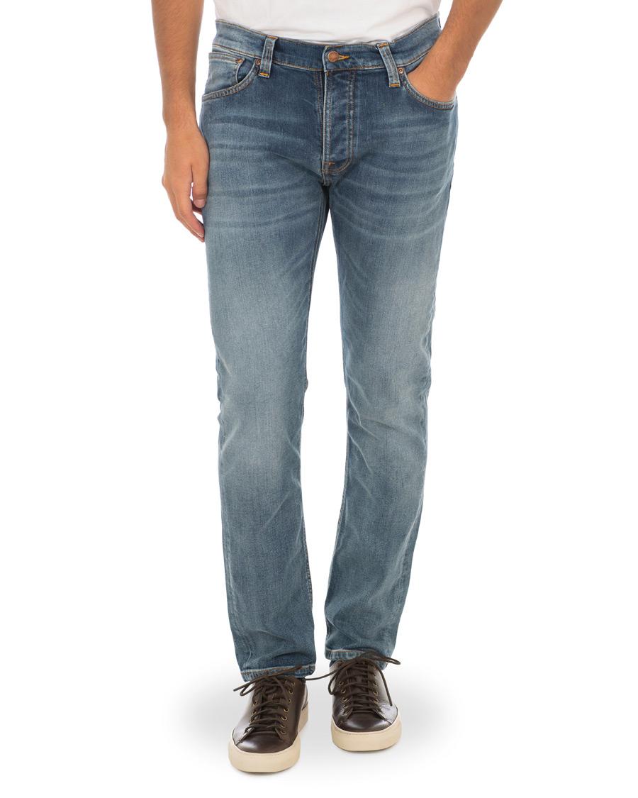 af7ac2fcfae8 Nudie Jeans Dude Dan Organic Jeans Steel Indigo hos CareOfCarl.co