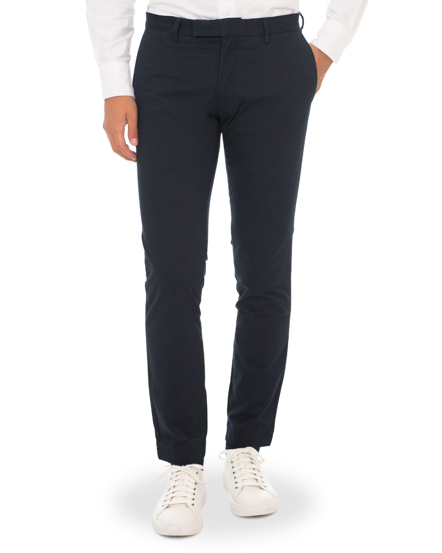 0414ec3af0fa Polo Ralph Lauren Tailored Slim Fit Stretch Hudson Chinos Aviator Navy