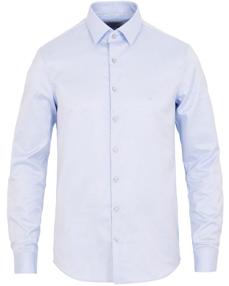 Calvin Klein Slim Fit Oxford Shirt Light Blue hos