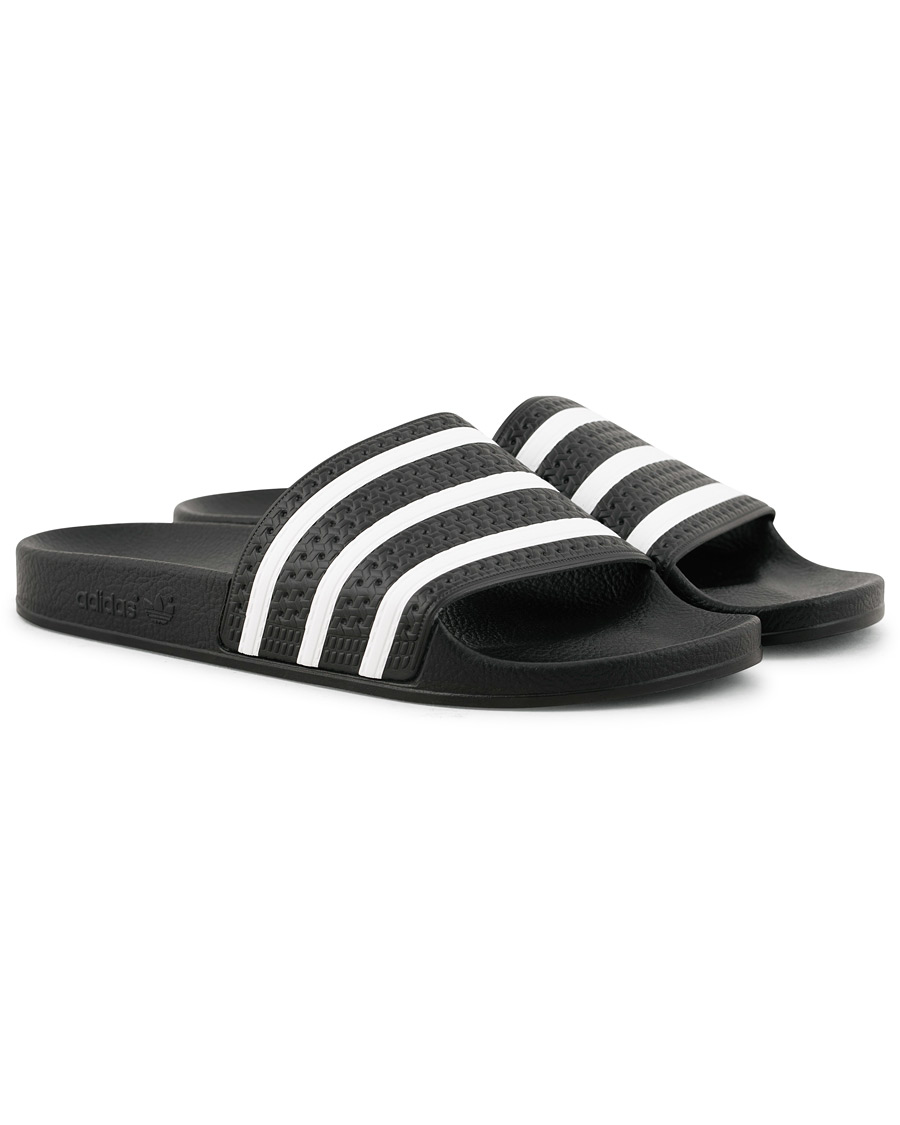 adidas Originals Adilette Flip Flop Black UK6 EU39