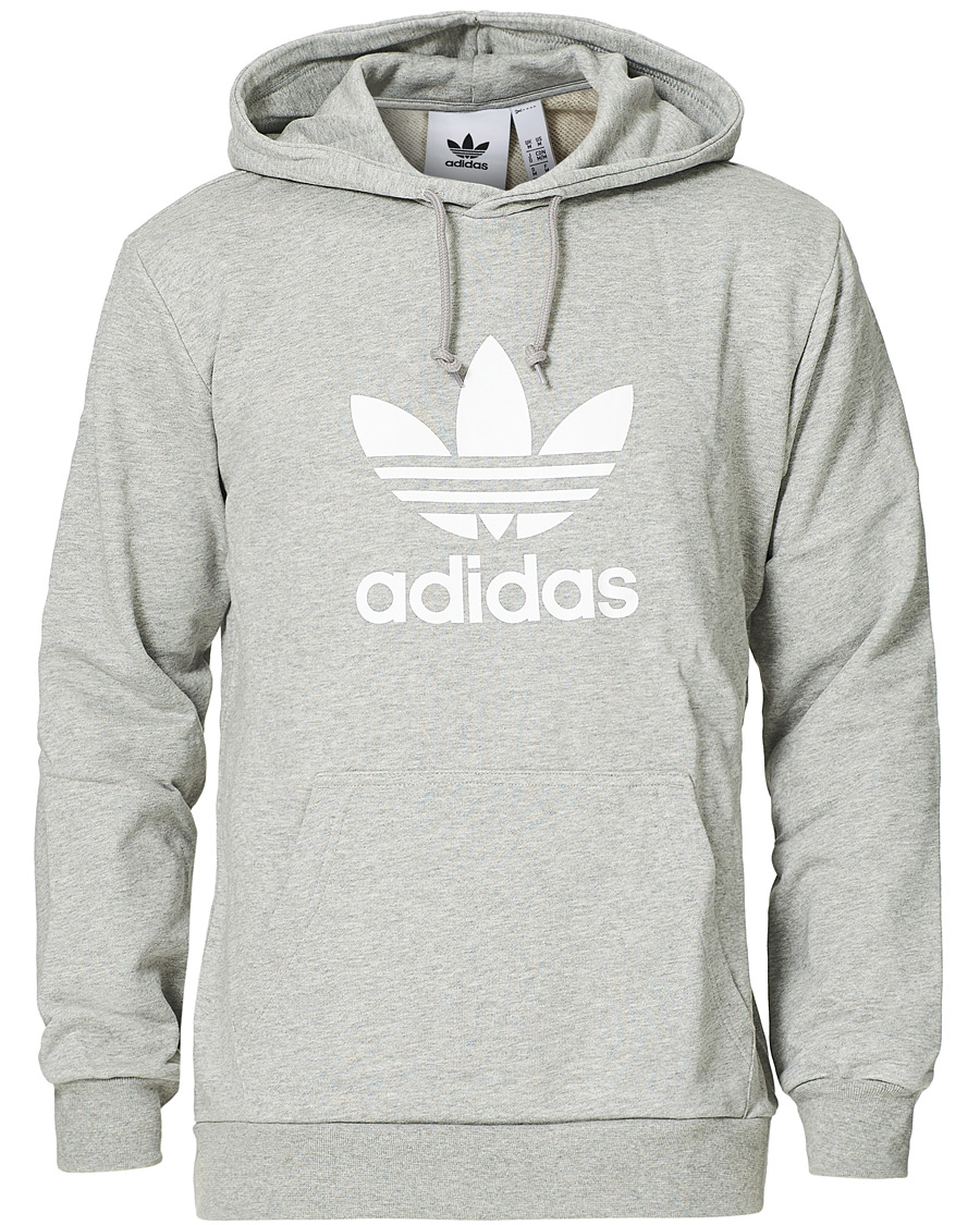 Trefoil Hoodie by Adidas Originals in 2020 | Grey adidas