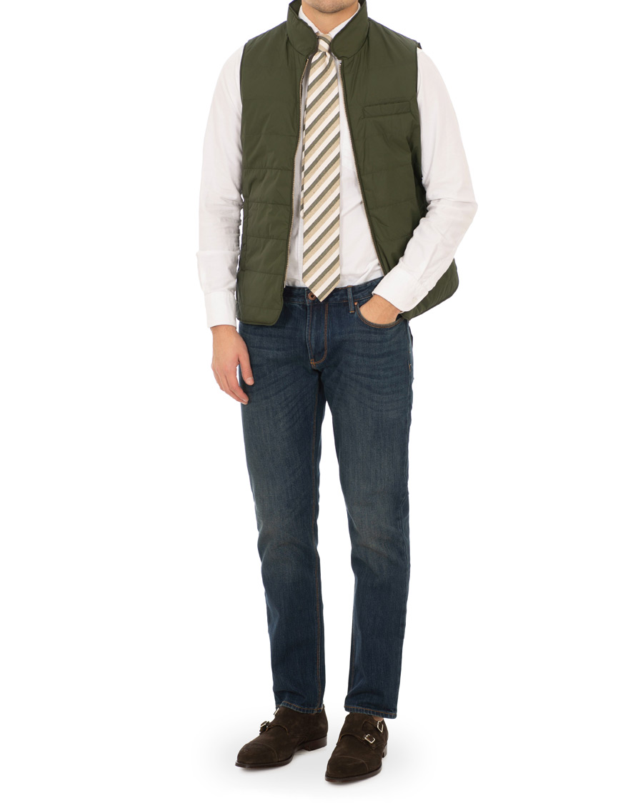d03e95d0 Stenströms Exclusively Made For Care of Carl Nylon Vest Green hos