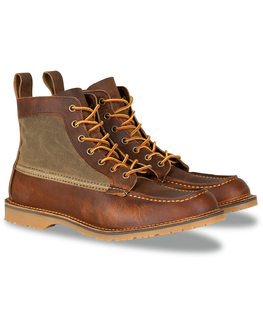 45236ccf424 Red Wing Shoes Wacouta 6-inch Moc Boot Copper Rough hos CareOfCar