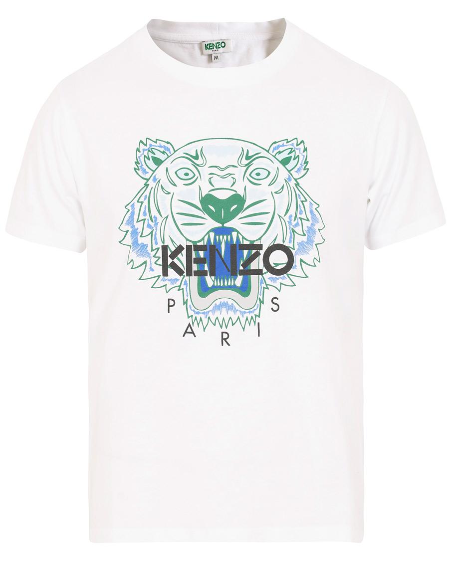 Kenzo Tiger T shirt White
