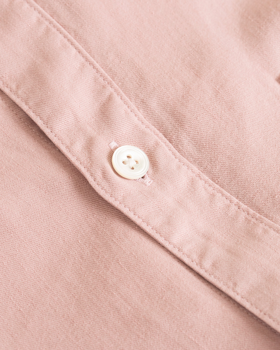NN07 Sixten Garment Dyed Shirt Mauve Purple hos CareOfCarl.com a919fa9e5094e
