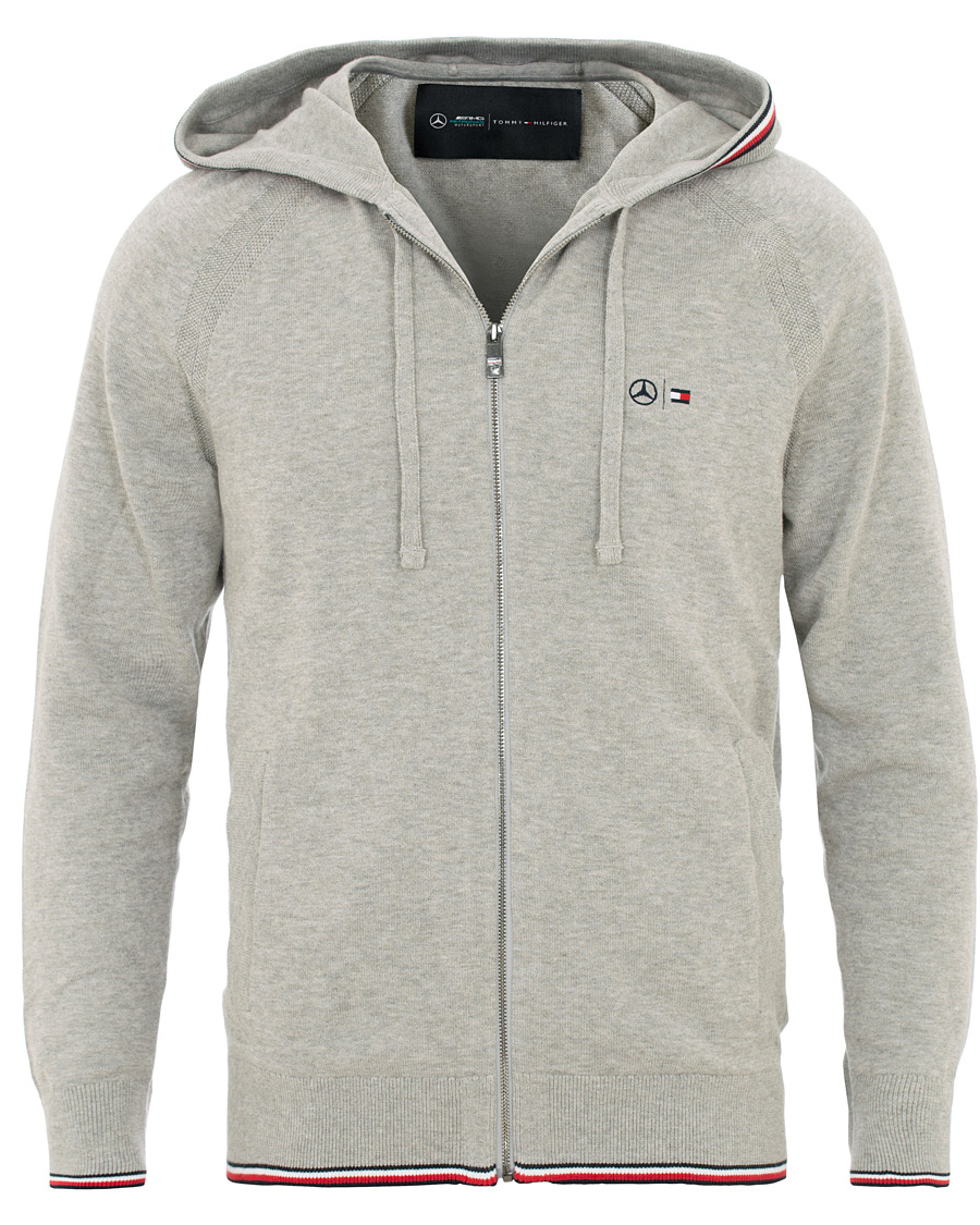 6ee5bf13 Tommy Hilfiger Mercedes Benz Full Zip Hoodie Cloud Heather hos Ca