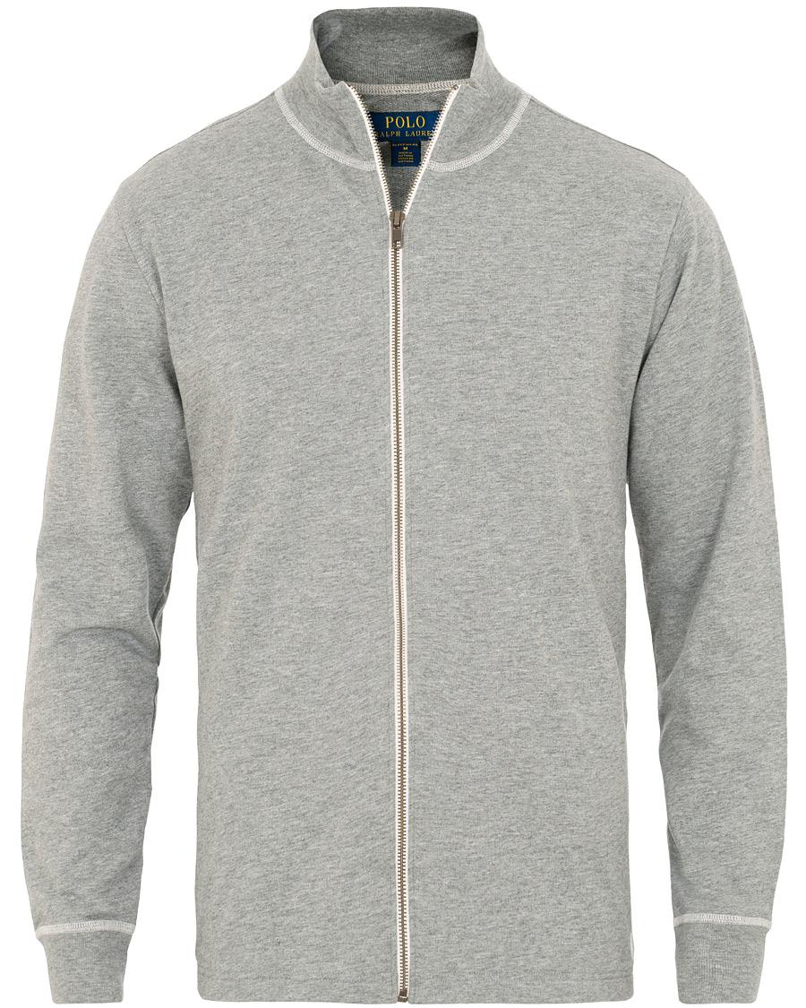Grey Polo Ralph Zip M Lauren Sweater Full uwPiOklXZT