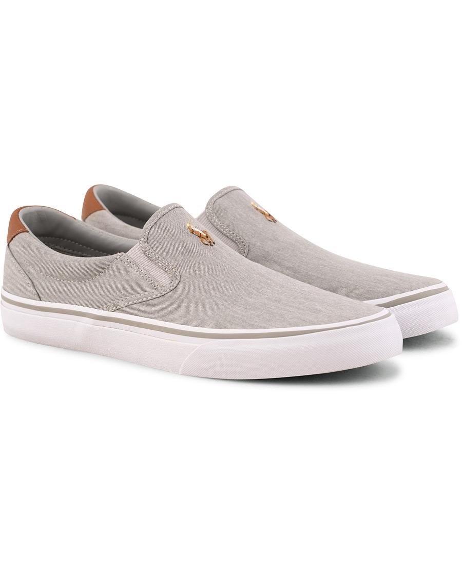 c29e0c55 Polo Ralph Lauren Thompson Slip On Sneaker Soft Grey US7 - EU40