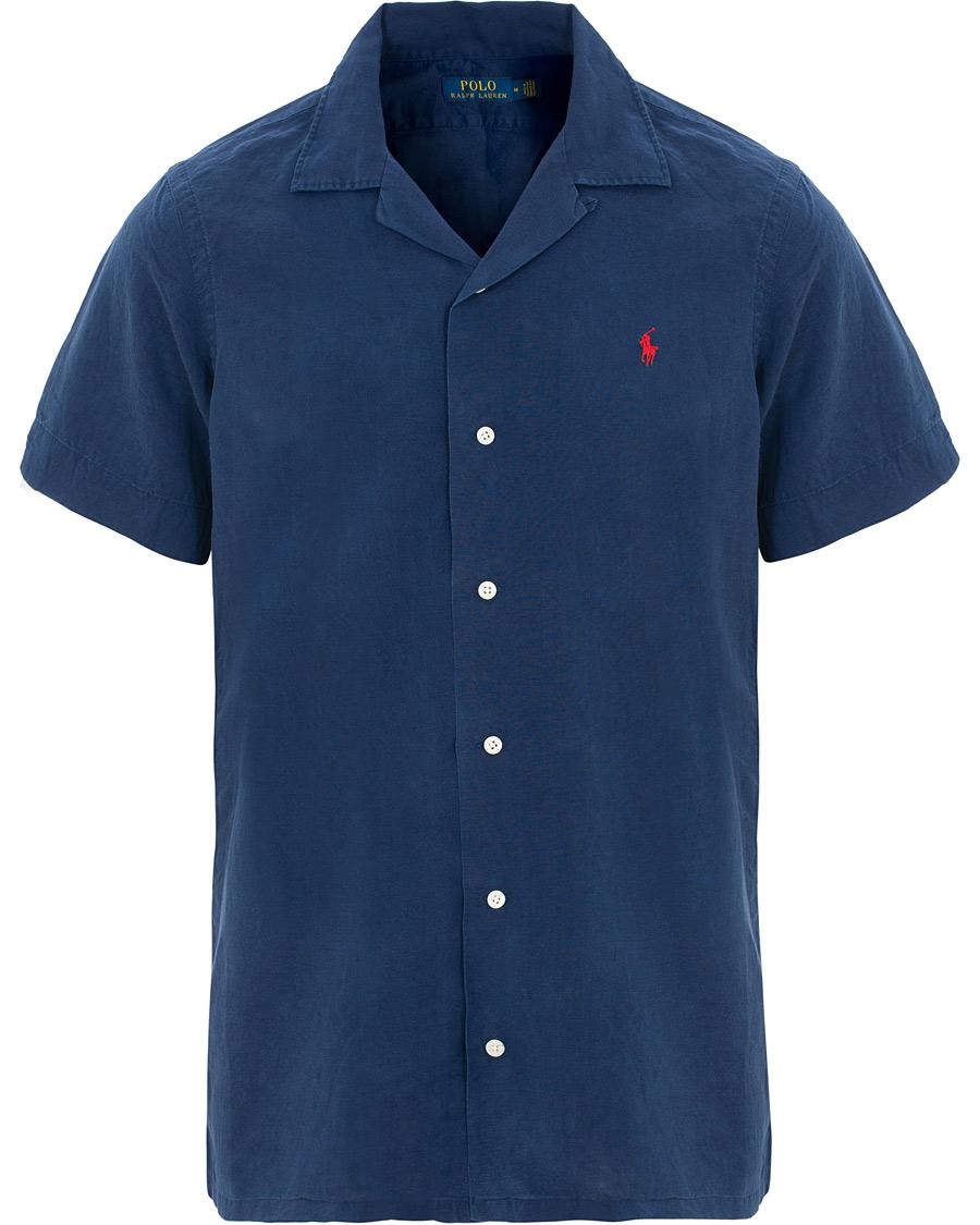 f5c1995f Polo Ralph Lauren Core Fit Camp Collar Shirt Holiday Navy hos Car