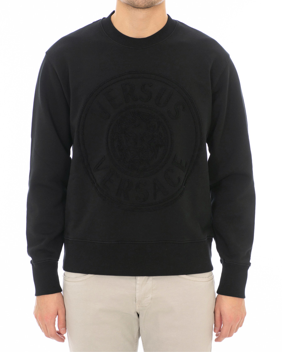 Versus Versace Logo Sweatshirt Black hos