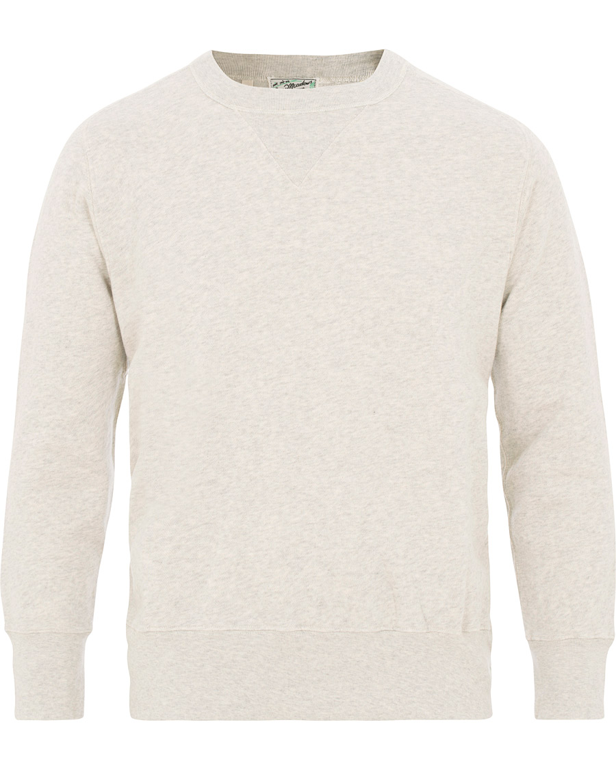 a8542a1bc Levi s Vintage Clothing Bay Meadows Crew Neck Sweatshirts Oatmeal Melange