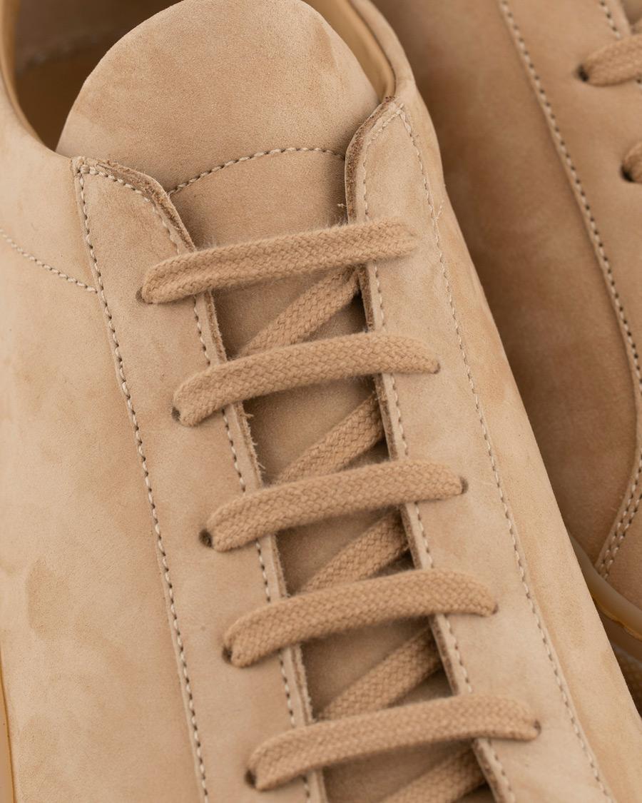 half off a9ef2 bcdff Common Projects Original Achilles Sneaker Tan Nubuck