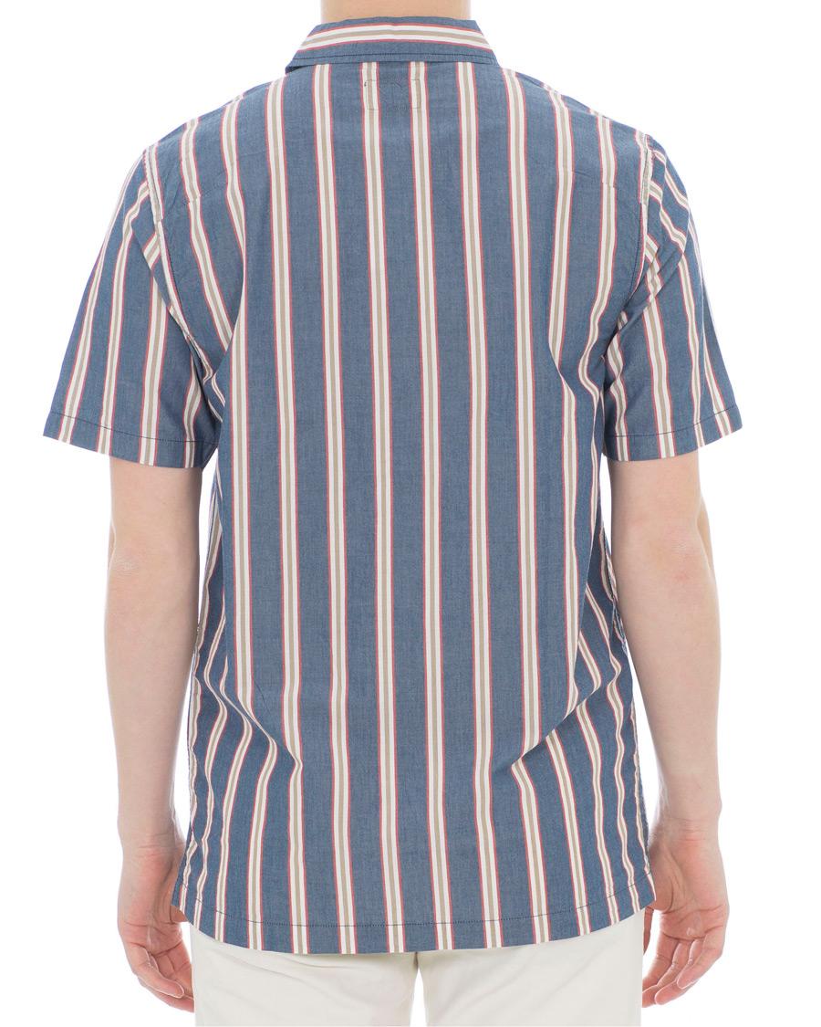 ea21ff1d5d Nudie Jeans Svante Sleeve Shirt Cuban Stripe hos CareOfCarl.com