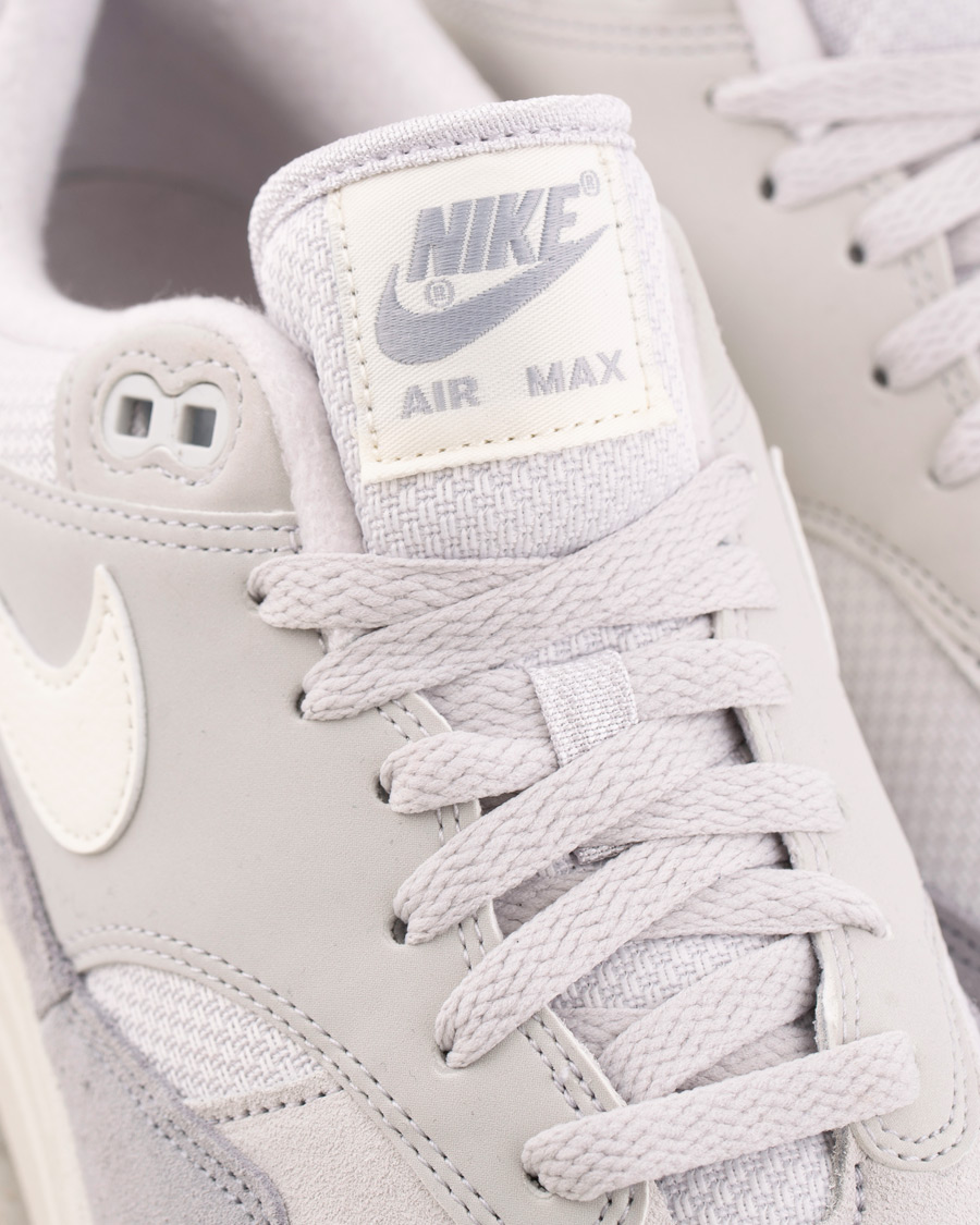 info for 59232 95409 Nike Air Max 1 Sneaker Vast Grey