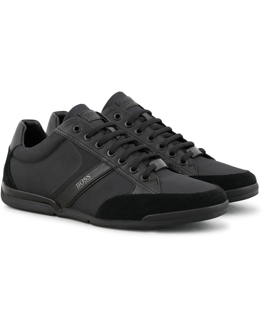 a9f9f65eea5 BOSS Athleisure Saturn Low Sneaker Black i gruppen Skor / Sneakers / Låga  sneakers hos Care
