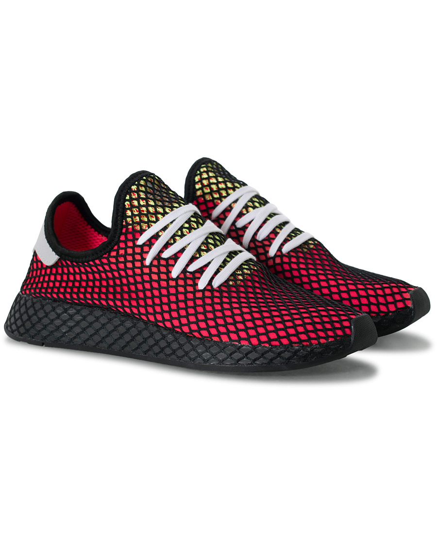 306fd4c9 adidas Originals Deerupt Sneaker Shock Red hos CareOfCarl.com