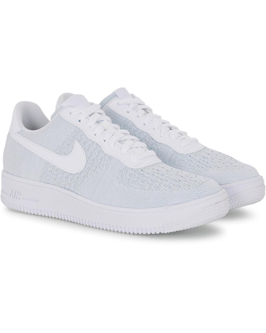 Nike Air Force 1 Flyknit Sneaker White hos