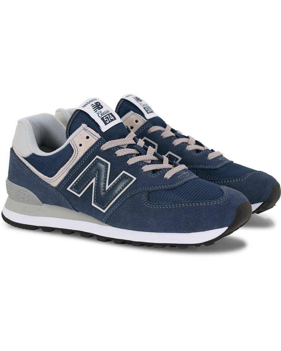 new styles f4bd6 a8f68 New Balance 574 Sneaker Black Iris US7 - EU40