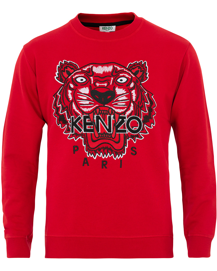 KENZO Icon Tiger Sweartshirt Red