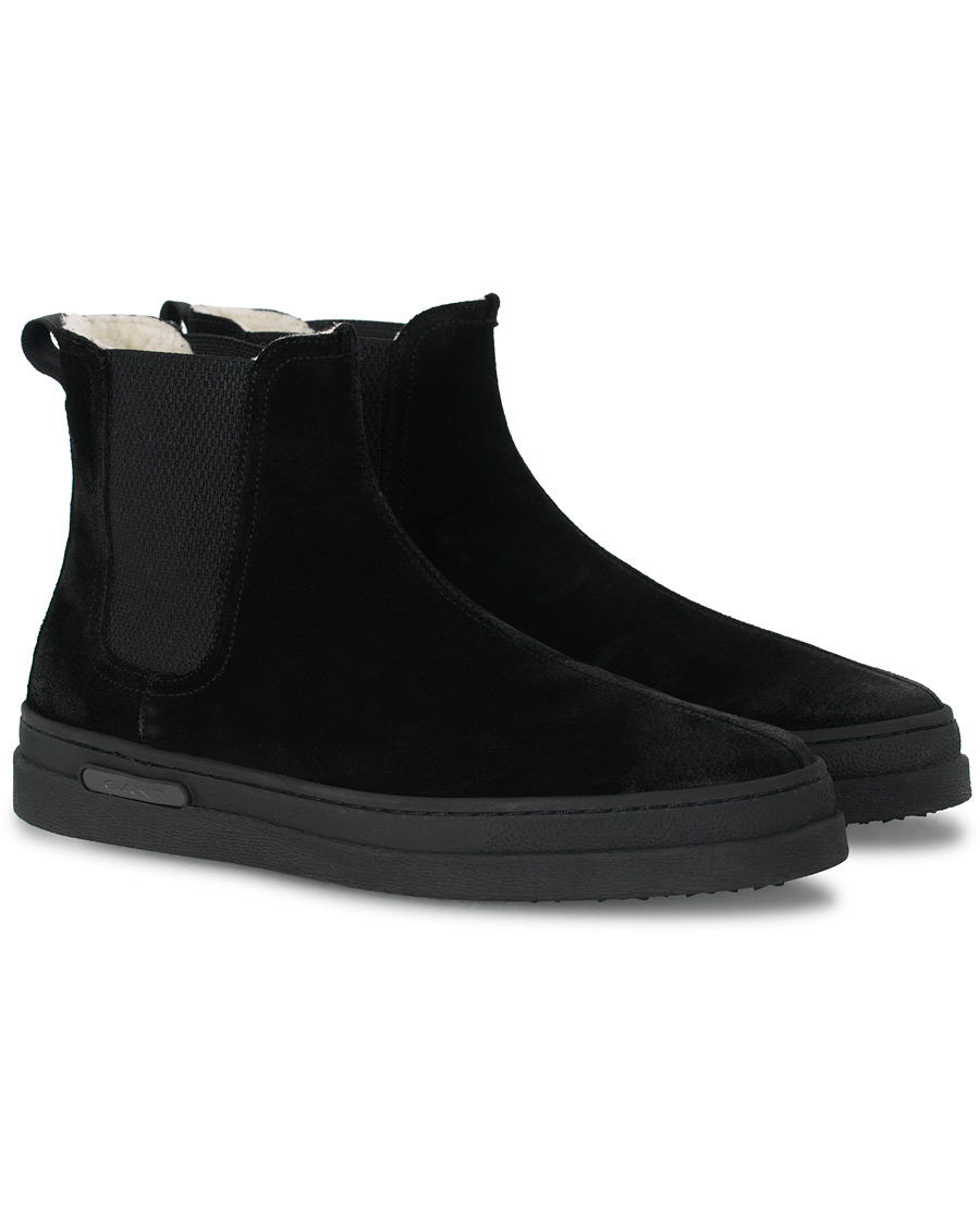 GANT Creek Chelsea Boot Black Suede