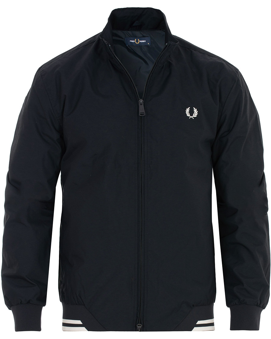 Fred Perry Twin Tip Sports Jacket Navy S