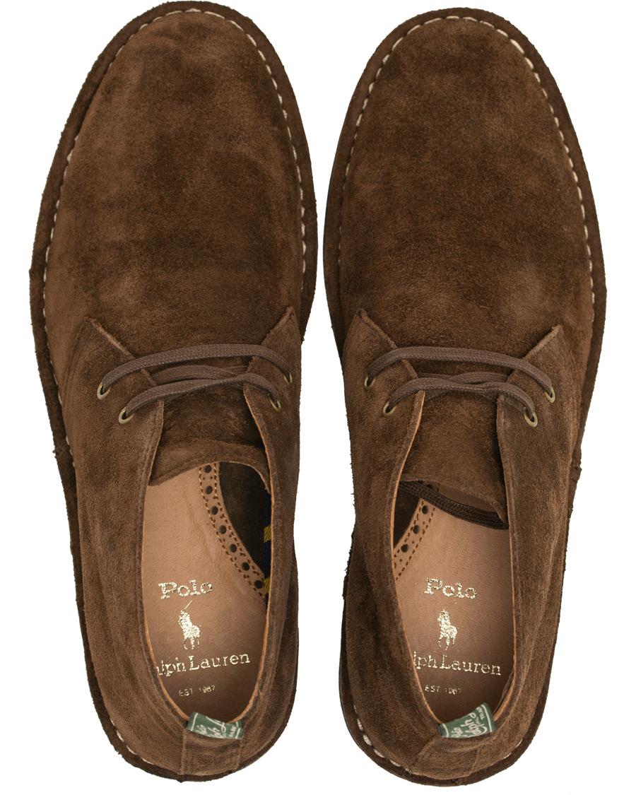 89b65794532 Polo Ralph Lauren Talan Chukka Boot Chocolate Brown Suede US7 - EU40