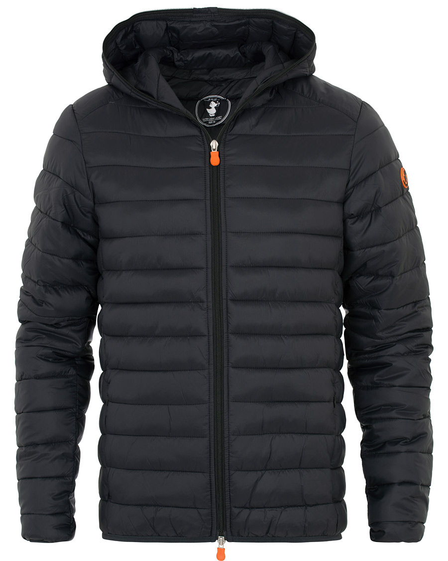 reputable site c0155 84176 Save The Duck Lightweight Padded Hooded Jacket Black S