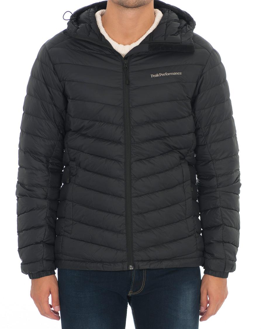 Peak Performance Frost Down Hood Jacket Svart
