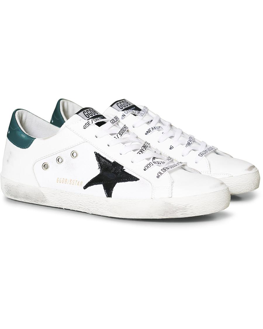 Golden Goose Deluxe Brand Black Star Canvas Superstar Sneaker White 41