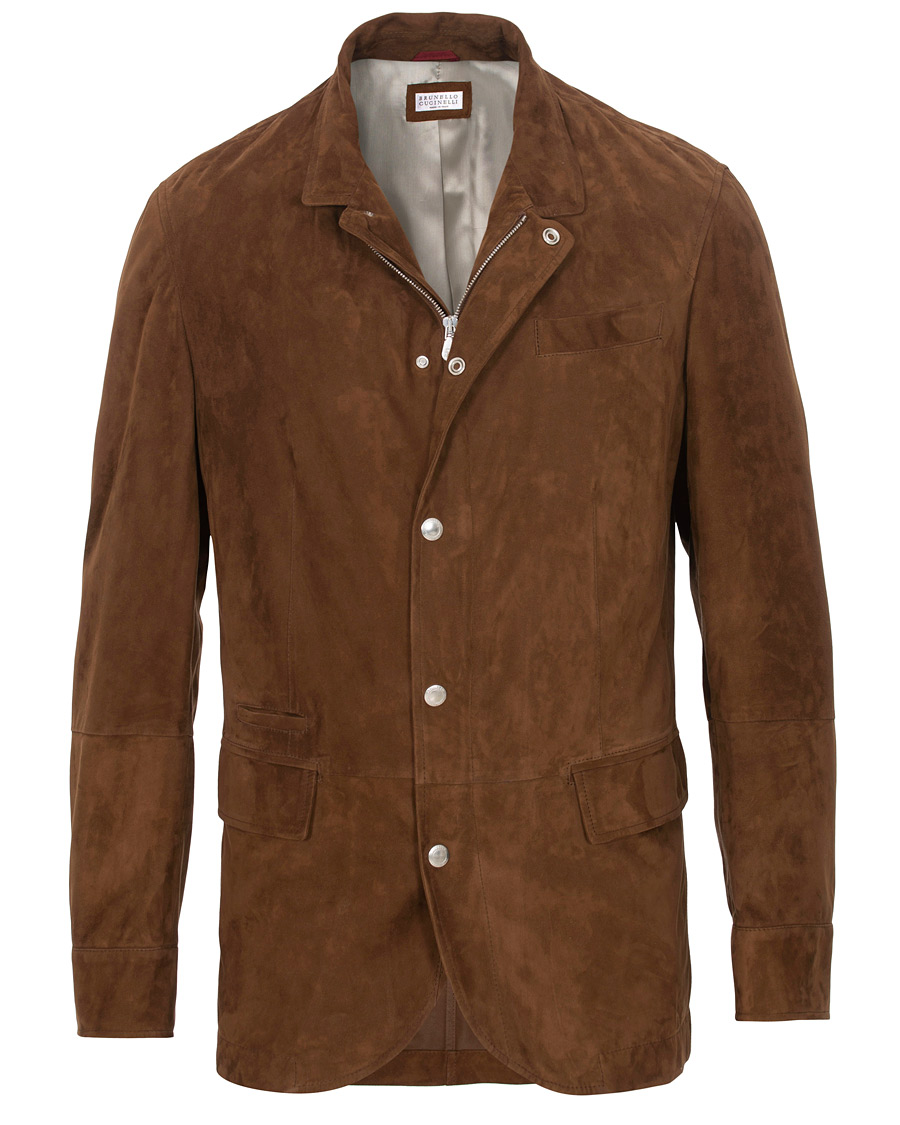 Image result for cucinelli suede jacket