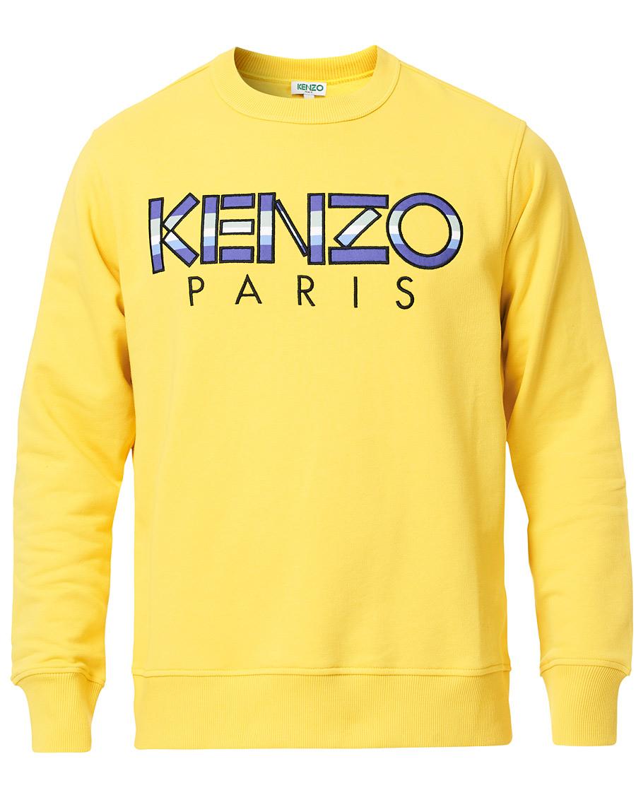 KENZO Paris Crew Neck Sweatshirt Yellow hos