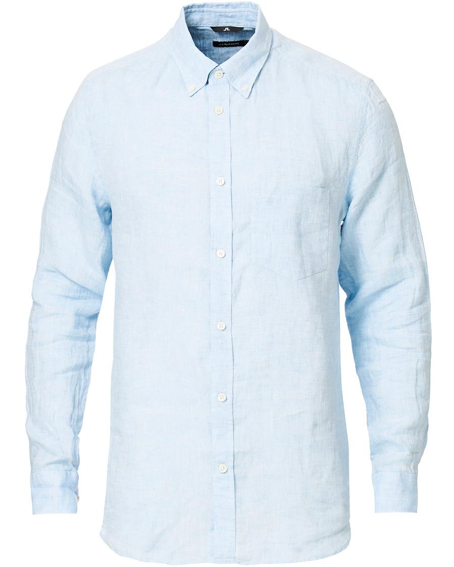 J.Lindeberg Daniel Linen Shirt Navy hos