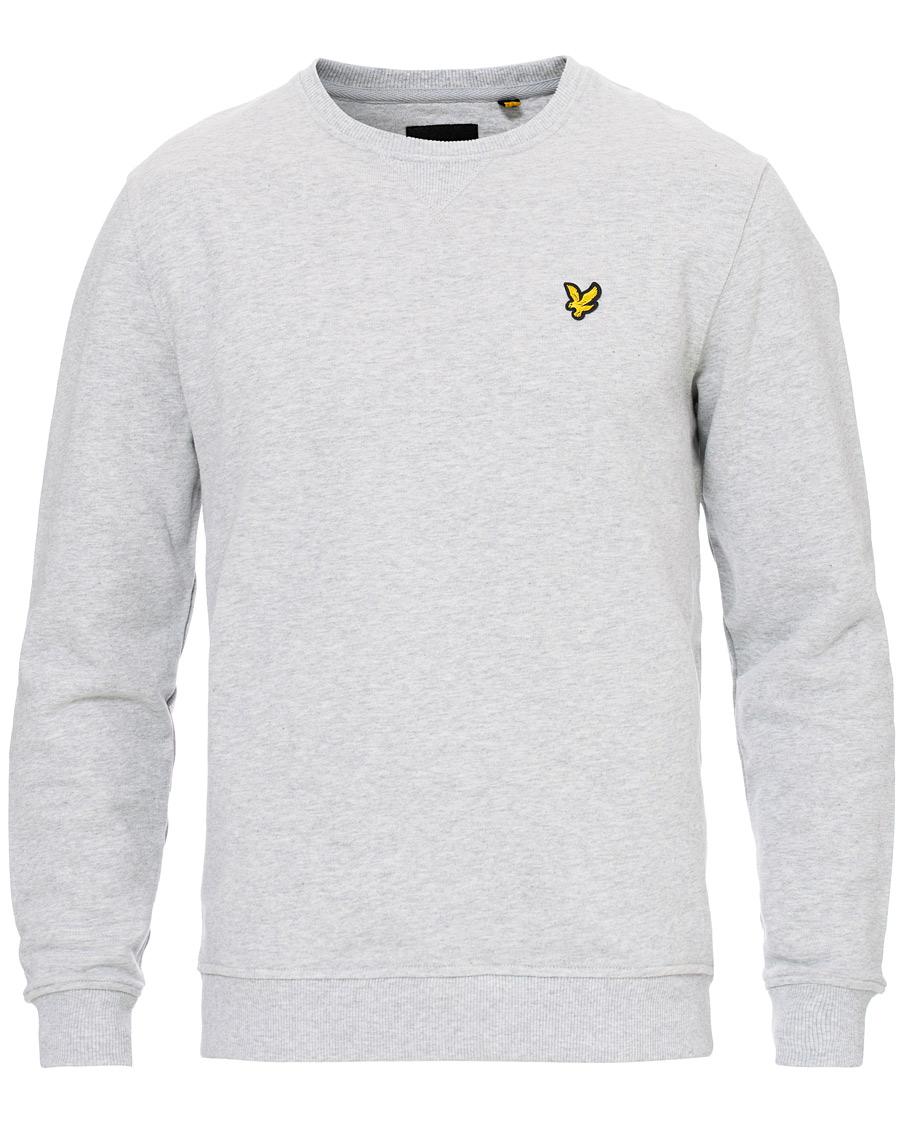 Lyle & Scott Crew Neck Sweatshirt Light Grey Marl XS