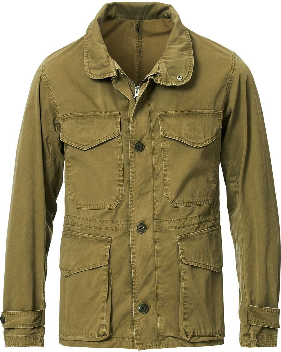 L.B.M. 1911 Cotton Gabardine Field Jacket Military Green hos