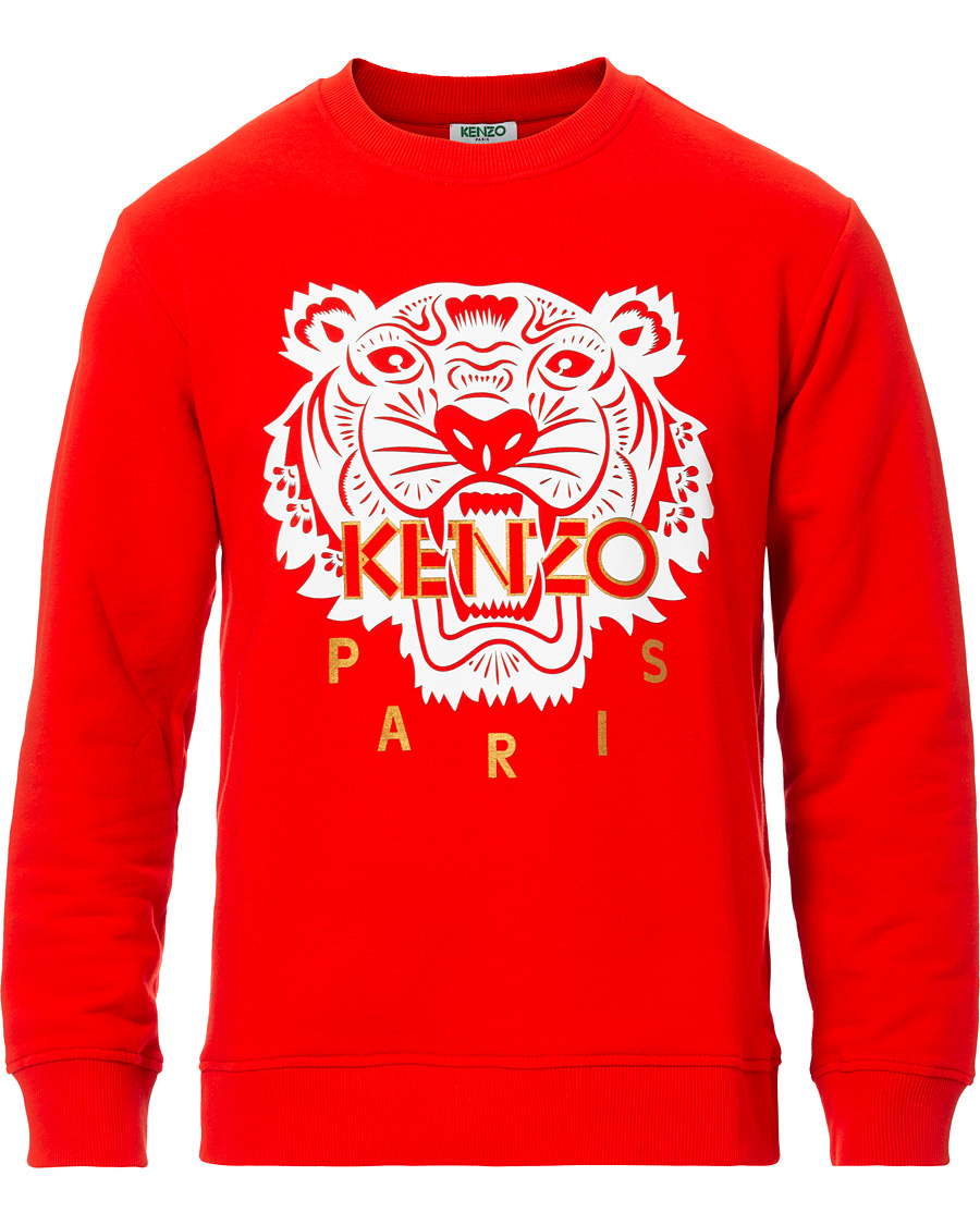 KENZO Icon Chinese New Years Sweatshirt Red hos
