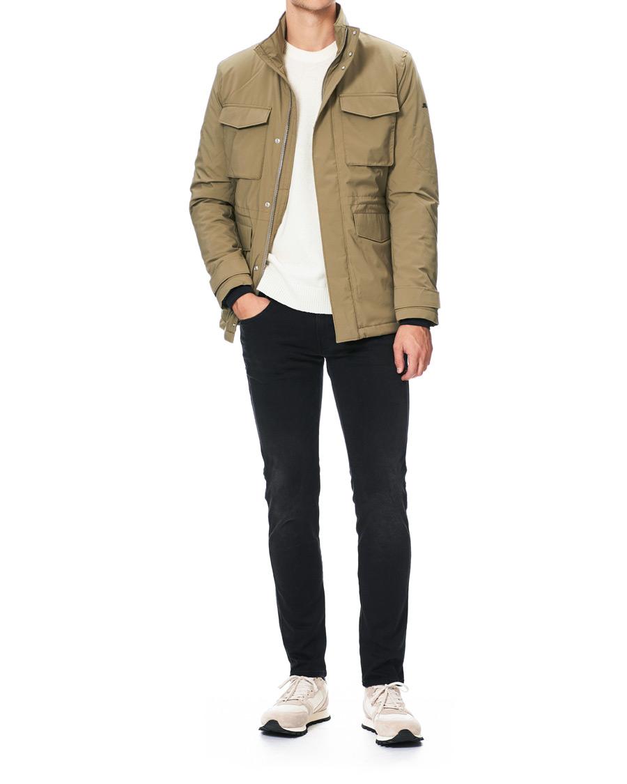 Stenströms CottonLinen Safari Jacket Beige hos