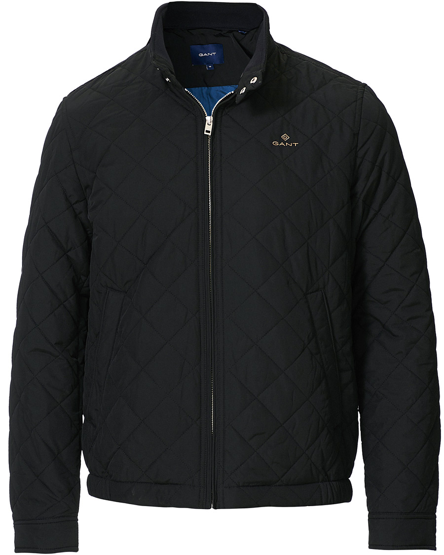 GANT The Quilted Windcheater Black S